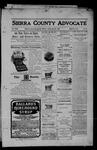 Sierra County Advocate, 05-26-1905 by J.E. Curren