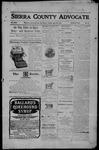 Sierra County Advocate, 06-16-1905 by J.E. Curren