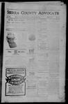 Sierra County Advocate, 06-30-1905 by J.E. Curren