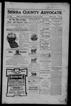 Sierra County Advocate, 07-14-1905 by J.E. Curren