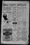 Sierra County Advocate, 07-21-1905 by J.E. Curren