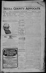 Sierra County Advocate, 07-28-1905 by J.E. Curren