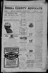 Sierra County Advocate, 08-11-1905 by J.E. Curren