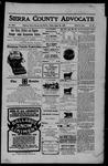 Sierra County Advocate, 08-25-1905 by J.E. Curren