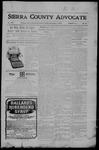 Sierra County Advocate, 09-01-1905 by J.E. Curren