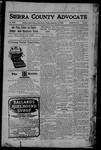 Sierra County Advocate, 09-15-1905 by J.E. Curren