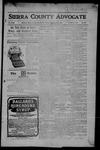 Sierra County Advocate, 09-22-1905 by J.E. Curren