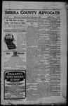 Sierra County Advocate, 10-06-1905 by J.E. Curren