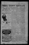 Sierra County Advocate, 10-13-1905 by J.E. Curren