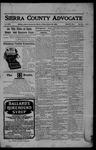 Sierra County Advocate, 10-20-1905 by J.E. Curren