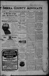 Sierra County Advocate, 10-27-1905 by J.E. Curren