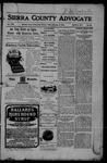 Sierra County Advocate, 11-03-1905