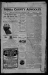 Sierra County Advocate, 11-17-1905 by J.E. Curren