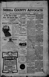 Sierra County Advocate, 12-08-1905 by J.E. Curren