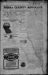 Sierra County Advocate, 12-15-1905 by J.E. Curren