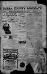 Sierra County Advocate, 12-29-1905 by J.E. Curren