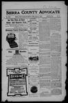 Sierra County Advocate, 01-05-1906 by J.E. Curren