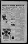 Sierra County Advocate, 01-12-1906 by J.E. Curren