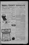 Sierra County Advocate, 01-19-1906 by J.E. Curren