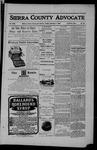 Sierra County Advocate, 02-09-1906 by J.E. Curren