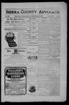 Sierra County Advocate, 02-16-1906 by J.E. Curren