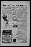 Sierra County Advocate, 03-02-1906 by J.E. Curren