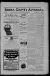 Sierra County Advocate, 03-09-1906 by J.E. Curren