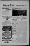Sierra County Advocate, 03-23-1906 by J.E. Curren