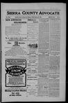 Sierra County Advocate, 03-30-1906 by J.E. Curren