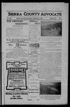 Sierra County Advocate, 04-13-1906 by J.E. Curren