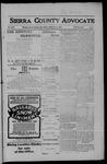 Sierra County Advocate, 05-04-1906 by J.E. Curren