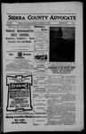 Sierra County Advocate, 05-11-1906 by J.E. Curren