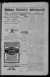 Sierra County Advocate, 05-18-1906 by J.E. Curren