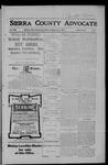 Sierra County Advocate, 05-25-1906 by J.E. Curren