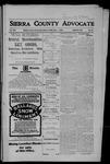 Sierra County Advocate, 06-01-1906 by J.E. Curren