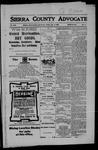 Sierra County Advocate, 06-08-1906 by J.E. Curren