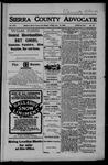 Sierra County Advocate, 06-15-1906 by J.E. Curren
