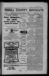 Sierra County Advocate, 06-22-1906 by J.E. Curren