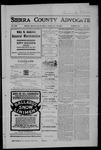 Sierra County Advocate, 06-29-1906 by J.E. Curren