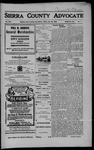 Sierra County Advocate, 07-20-1906 by J.E. Curren