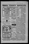 Sierra County Advocate, 07-27-1906 by J.E. Curren