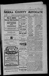 Sierra County Advocate, 08-03-1906 by J.E. Curren