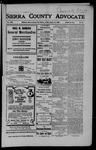 Sierra County Advocate, 08-10-1906 by J.E. Curren