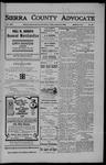 Sierra County Advocate, 08-24-1906 by J.E. Curren