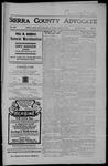 Sierra County Advocate, 08-31-1906 by J.E. Curren
