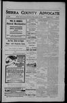 Sierra County Advocate, 10-12-1906 by J.E. Curren