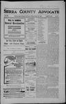 Sierra County Advocate, 10-26-1906 by J.E. Curren