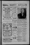 Sierra County Advocate, 11-02-1906 by J.E. Curren