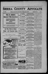 Sierra County Advocate, 04-19-1907 by J.E. Curren