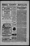 Sierra County Advocate, 06-21-1907 by J.E. Curren